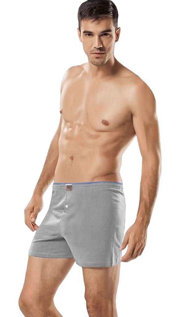 6lı Package Passion 100 Cotton Button Male Boxer Shorts Long Panties
