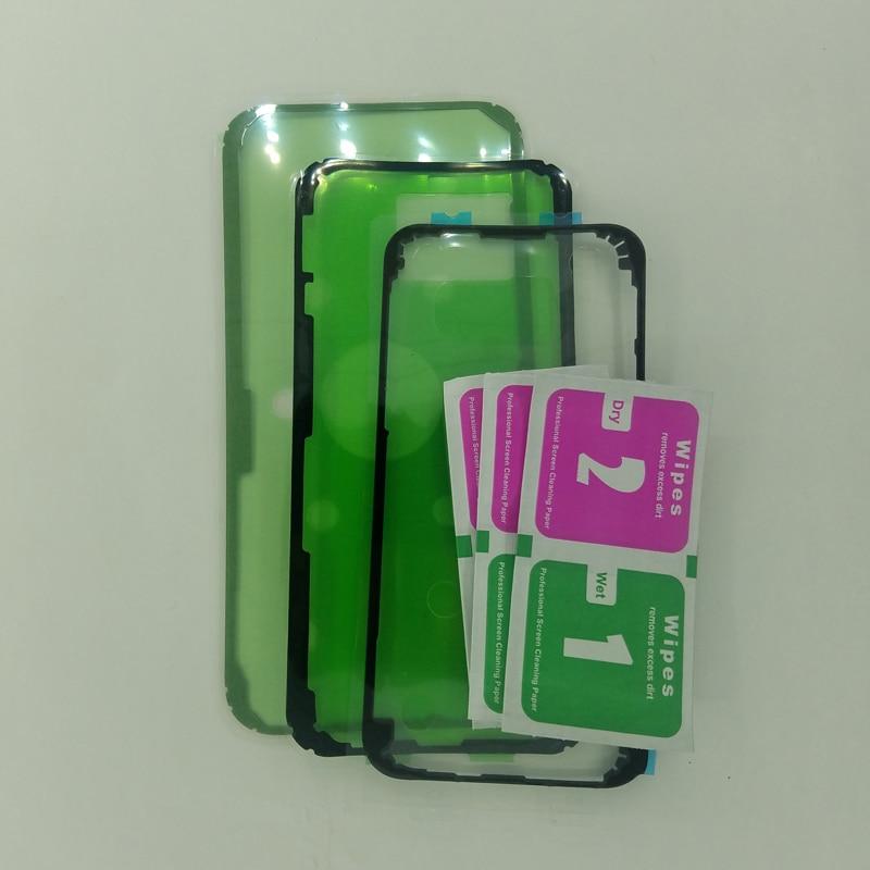 Para Samsung Galaxy A7 2017, A750, A750F, A9 2018, A920, A920F, carcasa de teléfono, pegamento adhesivo para parte trasera de cristal, cinta adhesiva para cubierta de batería