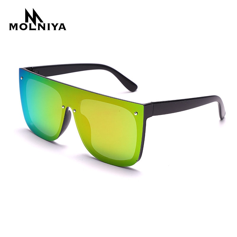 Women Siamese Sunglasses Men Oversized Square sports Sun Glasses Brand Designer Eyewear For Female O