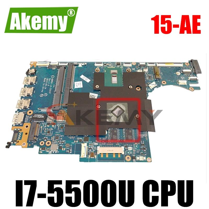 Akemy ل HP ENVY 15-AE اللوحة المحمول 812710-601 812710-501 ABW50 LA-C501P مع وحدة المعالجة المركزية I7-5500U 100% اختبارها بالكامل
