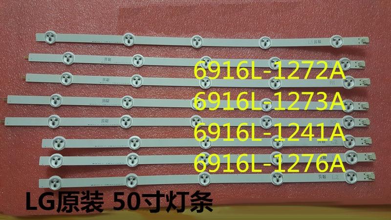 100% новинка-Оригинал 12 шт. (3 * R1 3 * L1 3 * R2 3 * L2) светодиодные задние фонари для 6916L-1273A 6916L-1241A 6916L-1276A 6916L-1272A LG 50LN5400