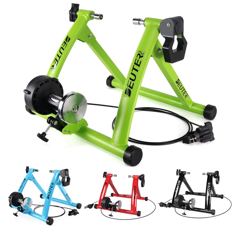 Exercise Bike Indoor Trainer Home Training 6 Speed Magnetic Resistance Road MTB Bicycle Trainers Cycling Roller wheel holder