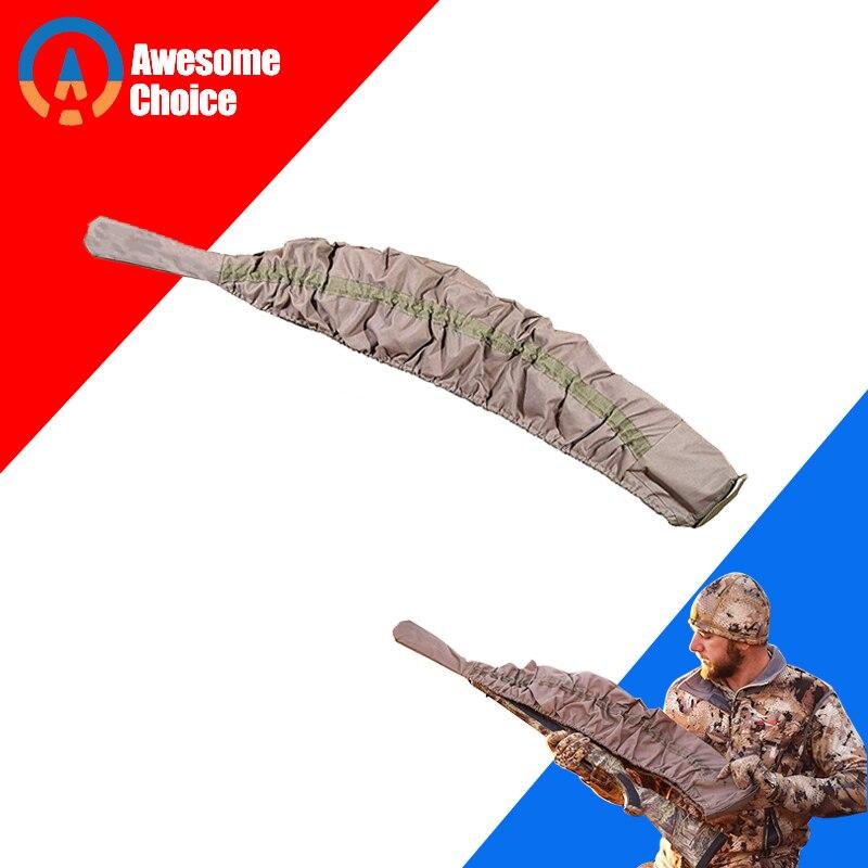 Elastizität Gewehr Stricken Tactical Gun Socke Polyester Silikon Behandelt Gewehr Protector Shotgun Abdeckung Fall Lagerung Hülse