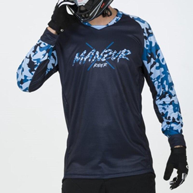 2020 manzur rider summer mountain bike enduro mtb bicicleta motocross bmx racing jersey downhill dh long sleeve cycling clothes