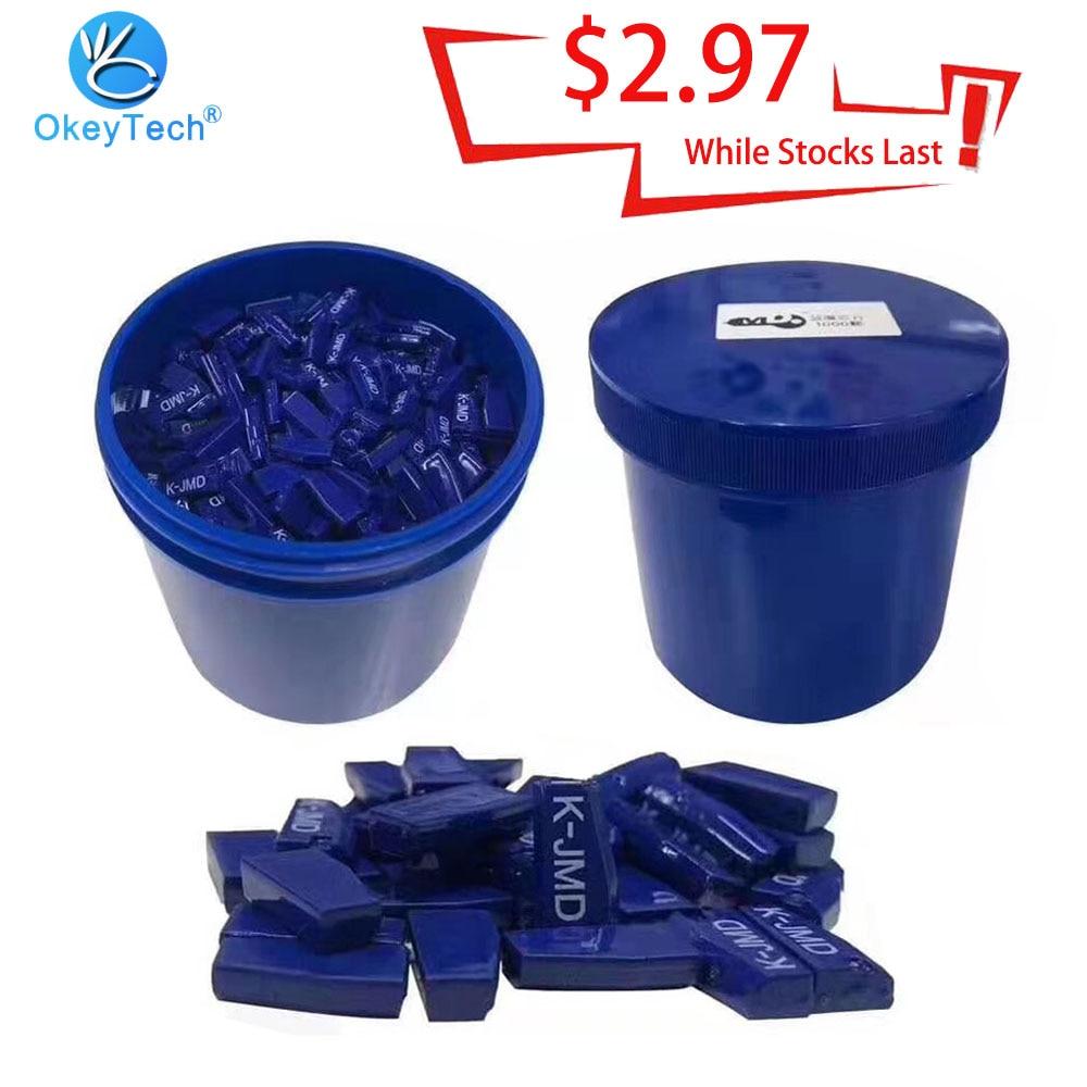 OkeyTech-puce Super Key JMD   Puce Clone JMD dorigine, pratique Baby King pour CBAY Blue k-jmd 46 4C 4D 83 72G, puce 10 pièces/lot