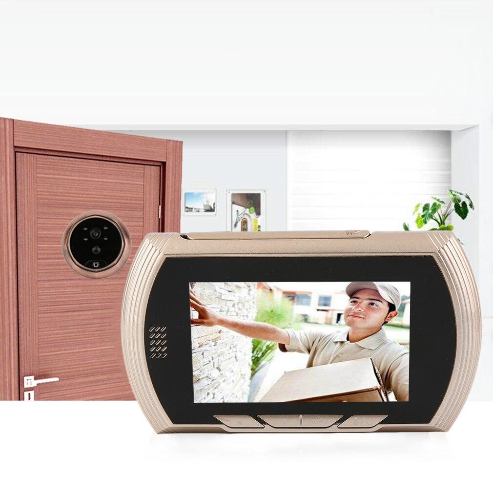 4.3 inch LCD Color Screen Digital Doorbell Smart Electronic Peephole Night Vision Door Video Camera Viewer Outdoor Door Be