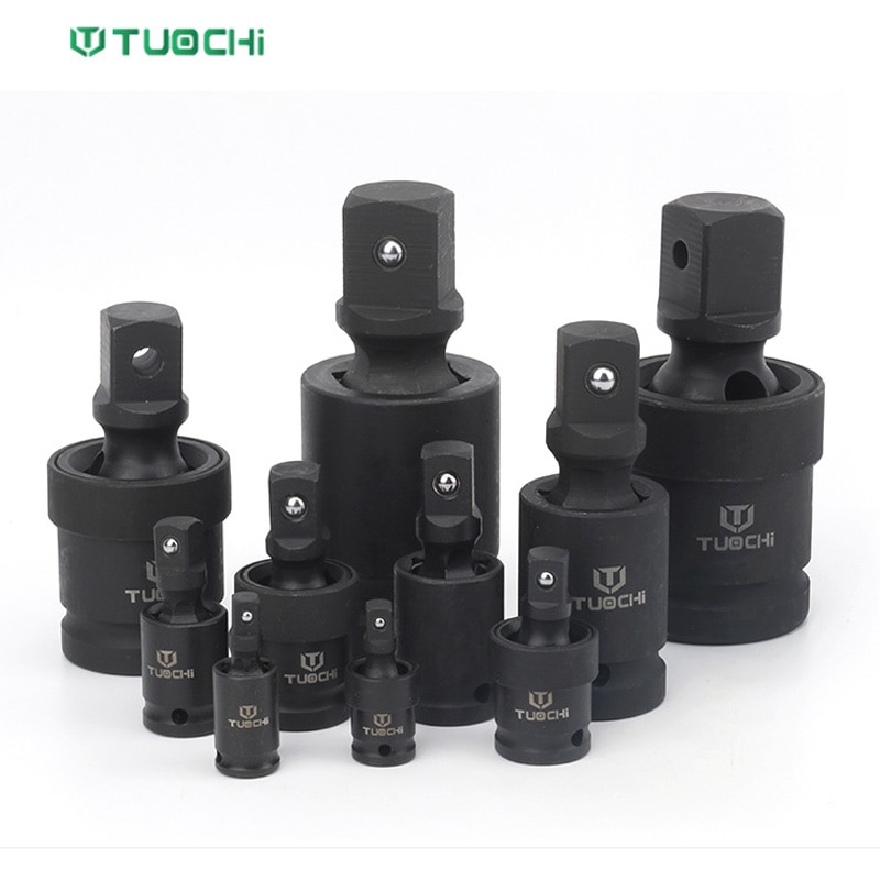"""1/4"""" 3/8"""" 3/4"""" 1"""" 1/2"""" Drive Universal Impact Joint Cr-Mo Steel Universal Joint Socket Impact Rated Socket Adapter Hand Tools недорого"""