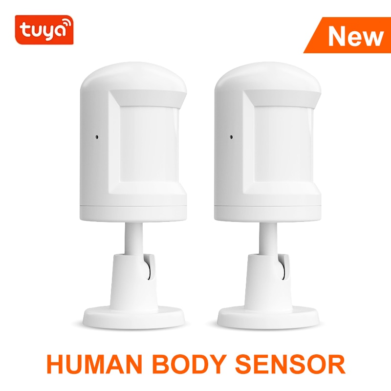 Tuya Motion Movement Detector Smart Human Body Sensor Works With Zigbee Gateway Batter Type Intelligent House For Home Care