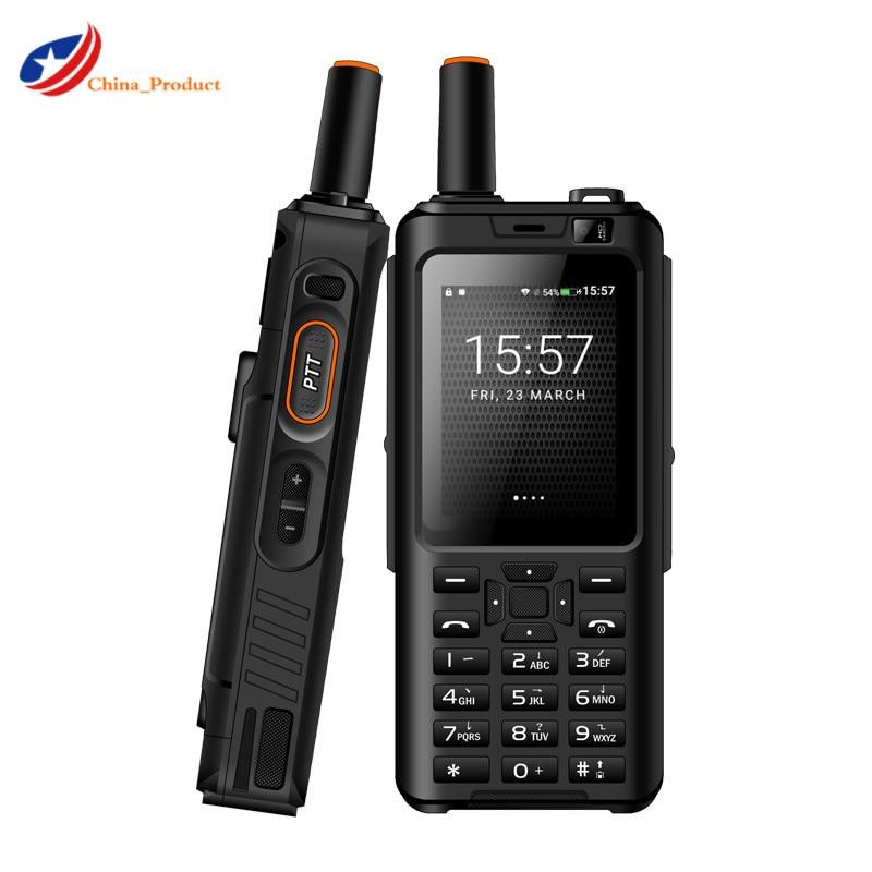 UNIWA Alps F40 Zello Walkie Talkie 4G Mobile Phone IP65 Waterproof Rugged Smartphone MTK6737M Quad C