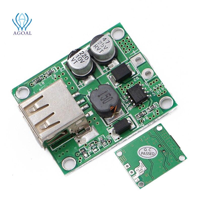 universal Solar Panel Power Bank USB Charge 6V 20V input 5V 2A Output Voltage Controller Regulator P