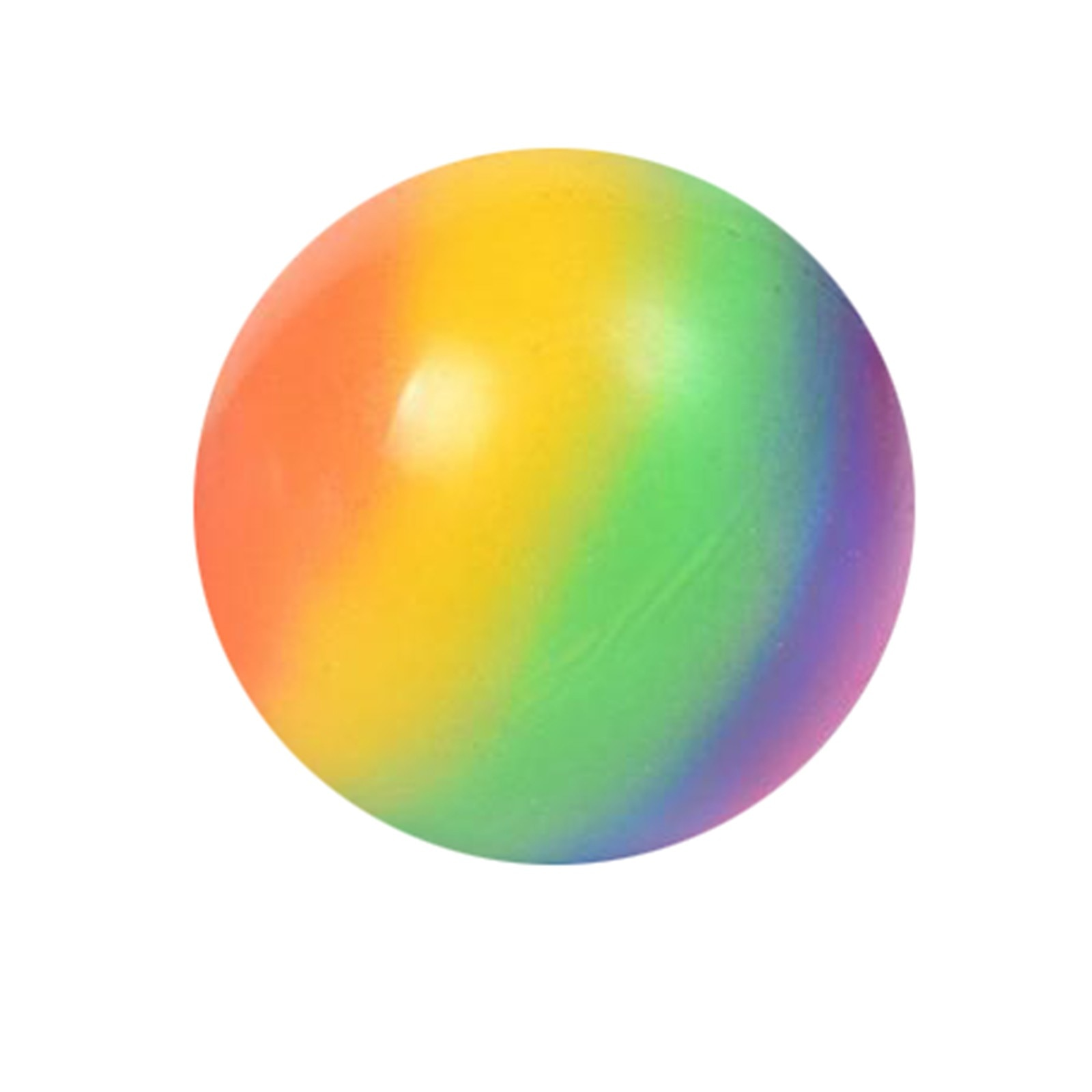 Toy slow rebound rainbow kneading music decompression ball kneading not bad spread creative toy 7cm discharge ball decompression enlarge