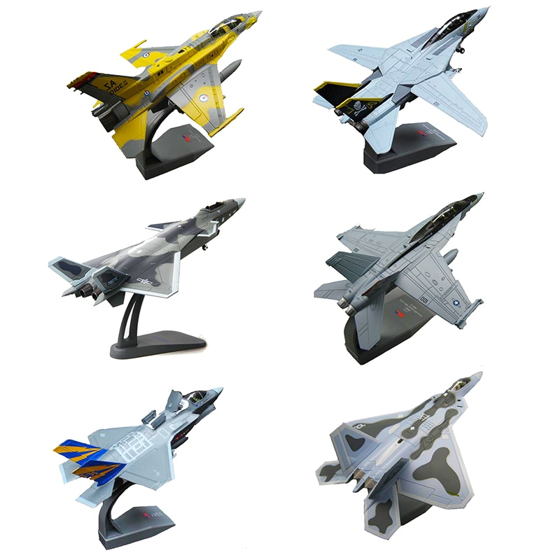 1/100 Military Modell Kind Spielzeug F14 Tomcat F-14A/B AJ200 VF-84 Kämpfer USA Navy Armee Air Force Diecast Metall flugzeug Flugzeug Nicht Bomber