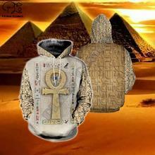 Men Unisex harajuku egyptian Full print 3d hoodie native indian Sweatshirt zipper women Pullover couples streetwear jacket E3