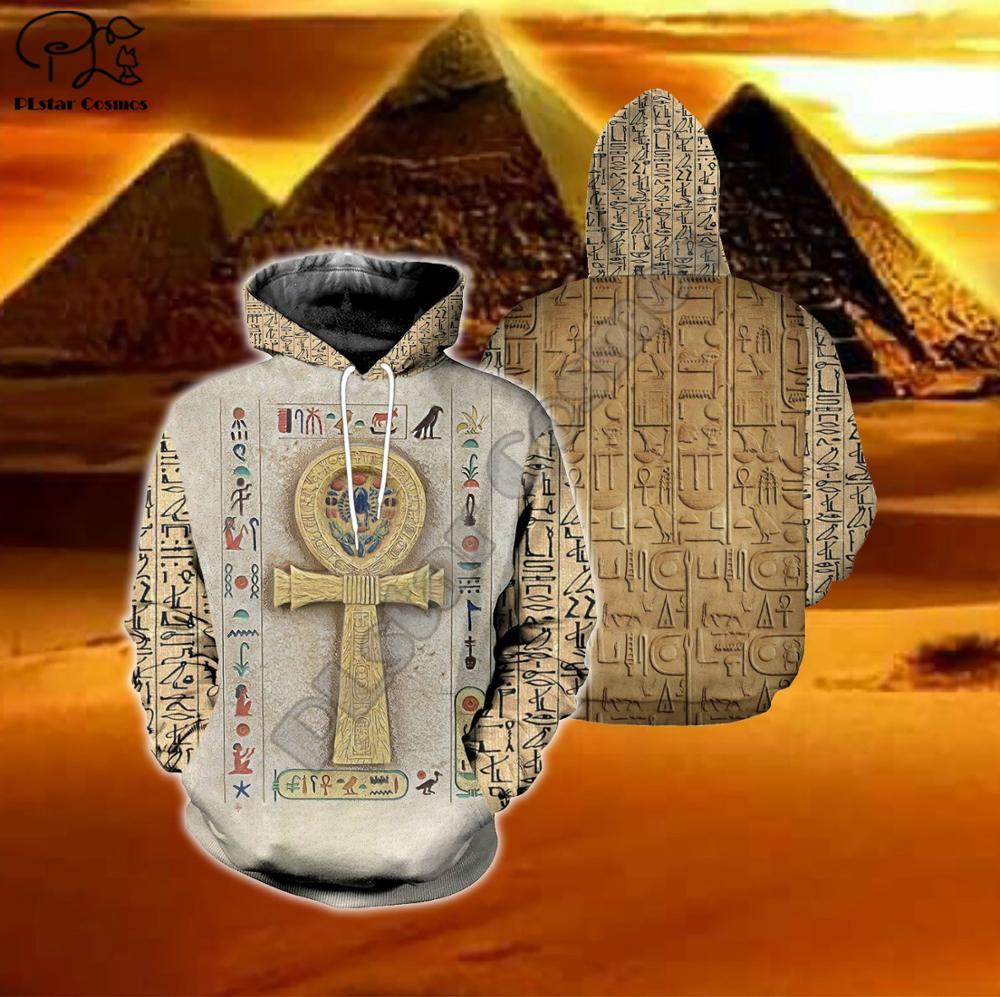 Sudadera Unisex harajuku con estampado completo egipcio 3d para hombre, Sudadera con capucha nativa india, sudadera con cremallera para mujer, jersey para parejas, chaqueta de calle E3
