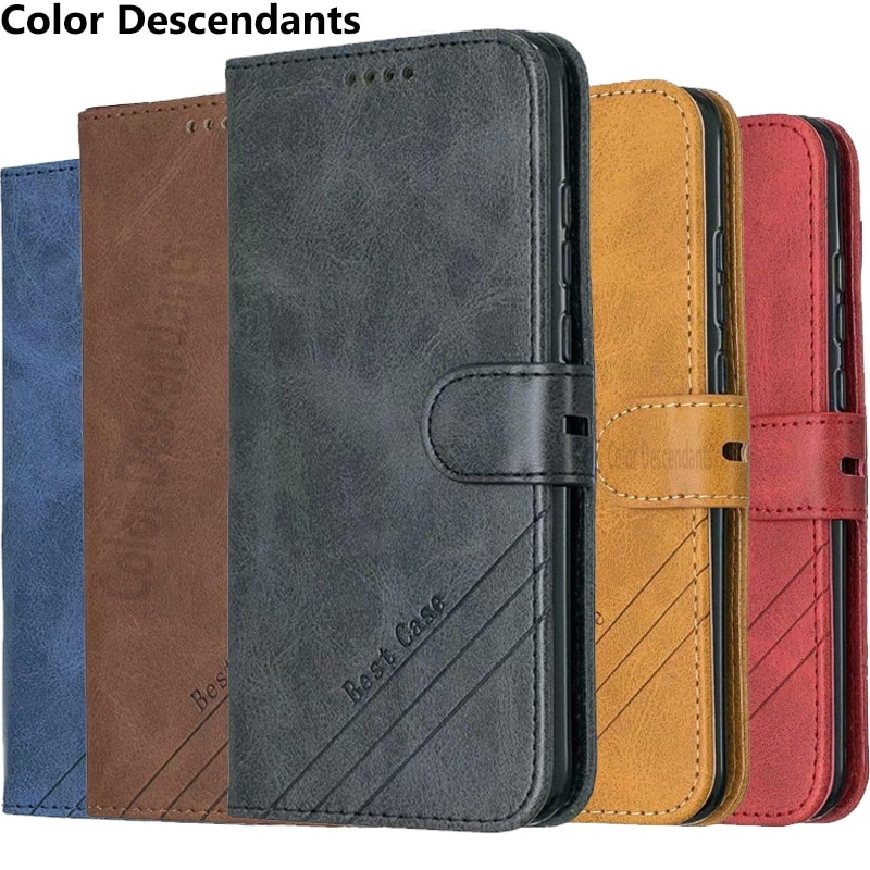For Samsung Galaxy Note 10 Lite Case Leather Wallet Flip Case For Samsung Note 10 Lite Note10Lite No