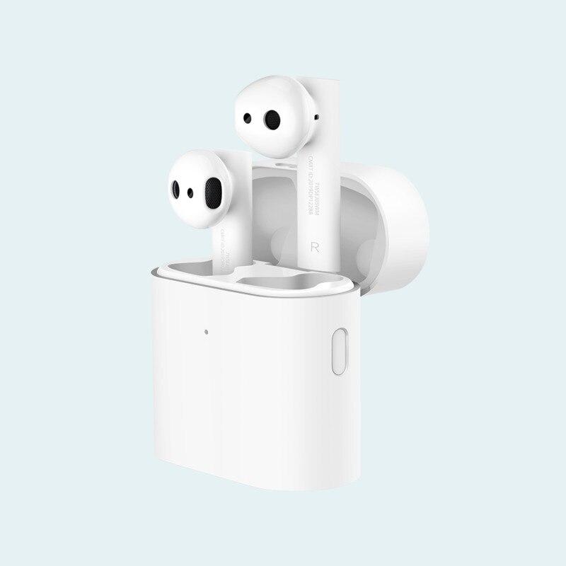 Fone de Ouvido Estéreo com Microfone s sem Fio Original Xiaomi Airdots Versão Global Tws mi Verdadeiro Fones ar s Controle Pro 2