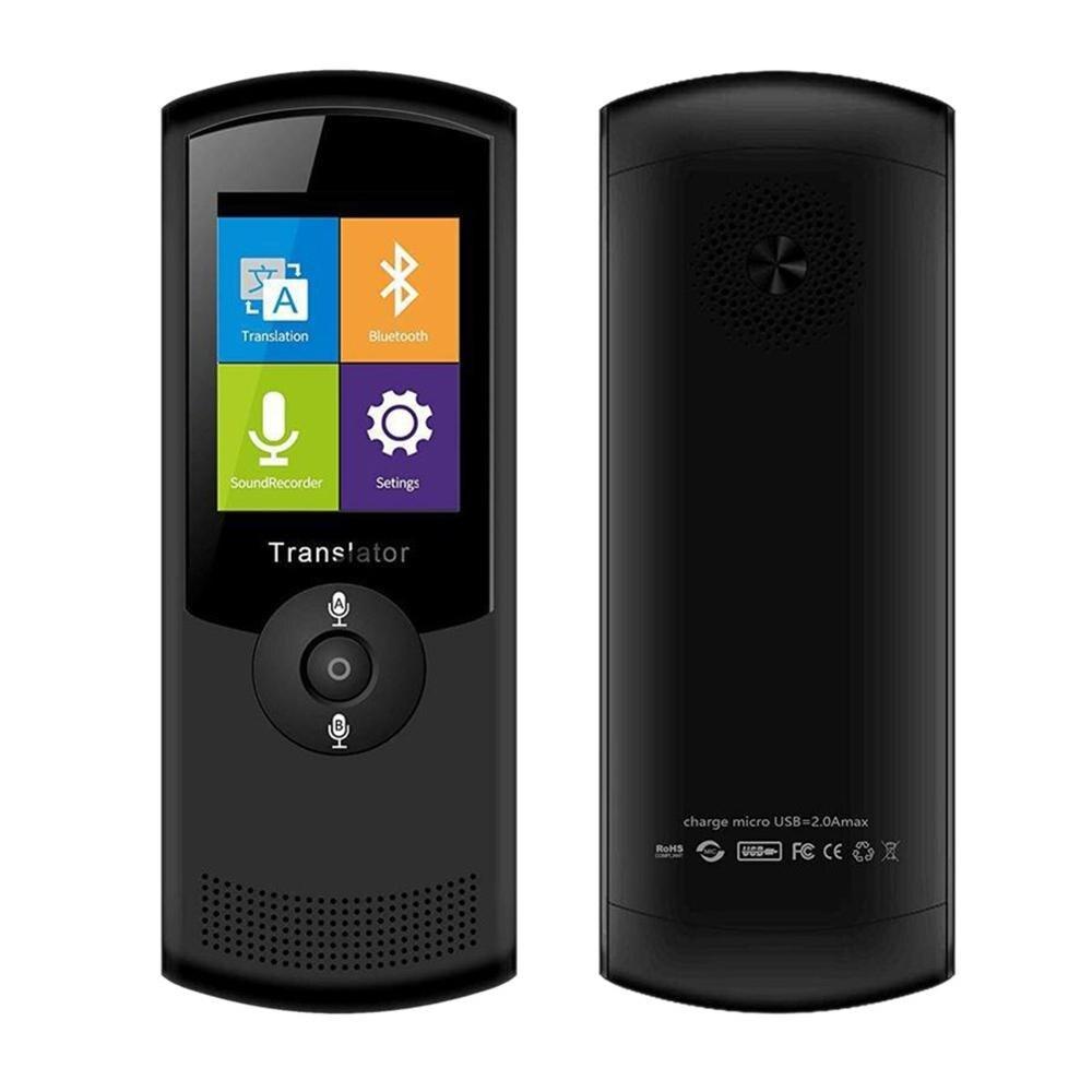 Máquina de traducción inteligente de voz T5, traductor de voz en varios idiomas, dispositivo de traducción inteligente instantánea para Tra internacional