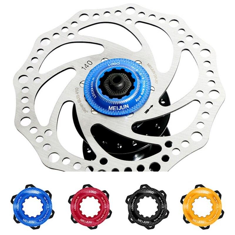 1pcs Mountain Bicycle hub Disc Brake Adapter Disc Brake Rotor Adaptor Center Lock for Aluminum Alloy Conversion Kit Bicycle Hubs