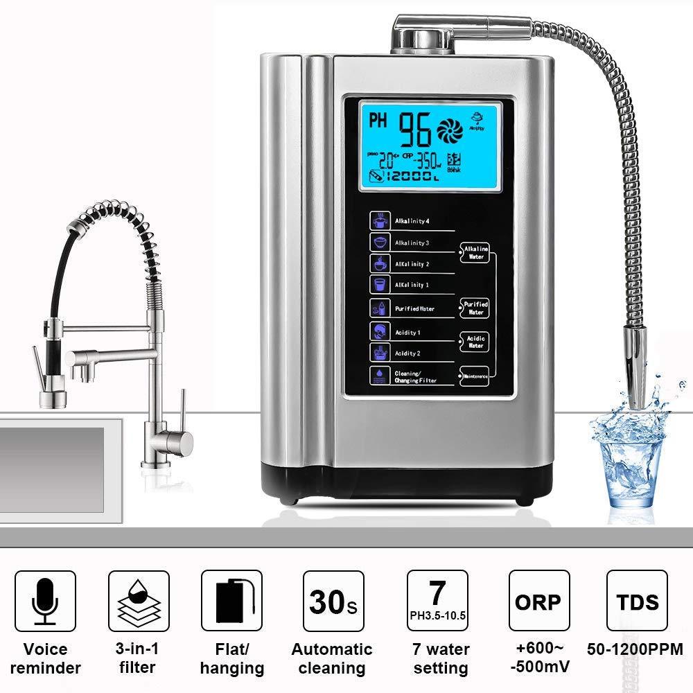7 Plate Alkaline Electrolysis Water Ionizer Chamber enlarge