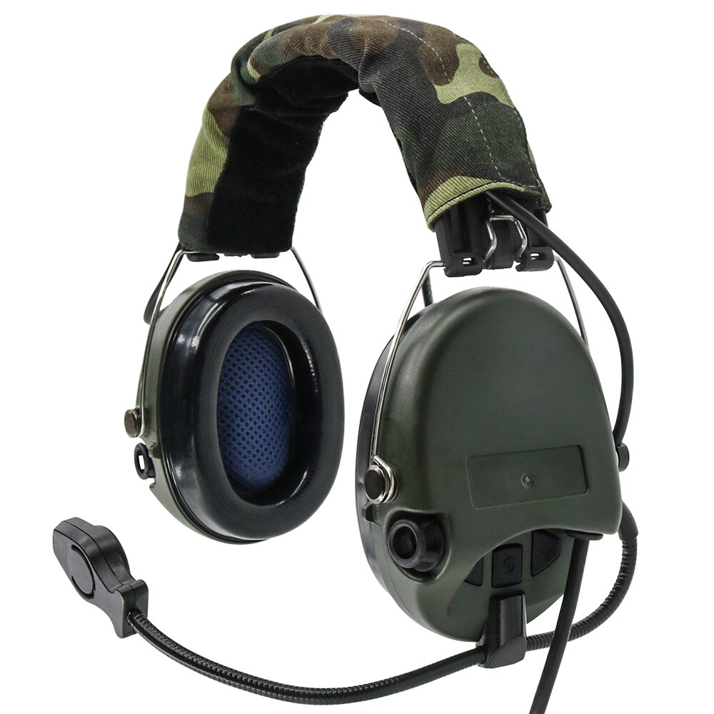 Tactical Electronic Earmuffs Sordin Pickup noise reduction  Headphones Airsoft Military Tactical Softair Walkie Talkie Headse FG enlarge