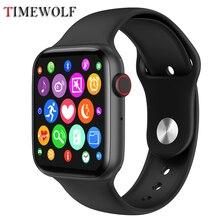 2020 Timewolf akıllı saat es Android izle IP68 su geçirmez Smartwatch Homme spor akıllı saat Android telefon için Apple Iphone