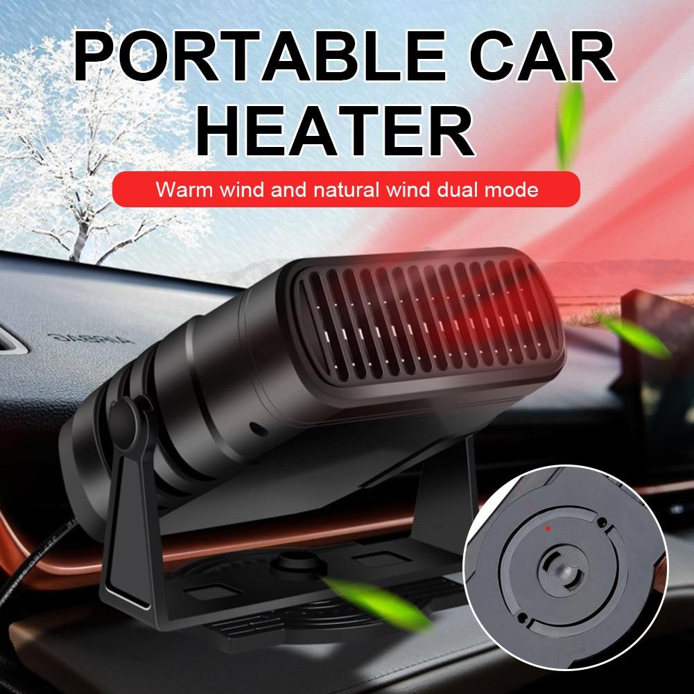 Автомобильный обогреватель, 12 В/24 В, 120 Вт, электрический обогреватель, Охлаждающие вентиляторы, портативная электрическая сушилка, защита о...