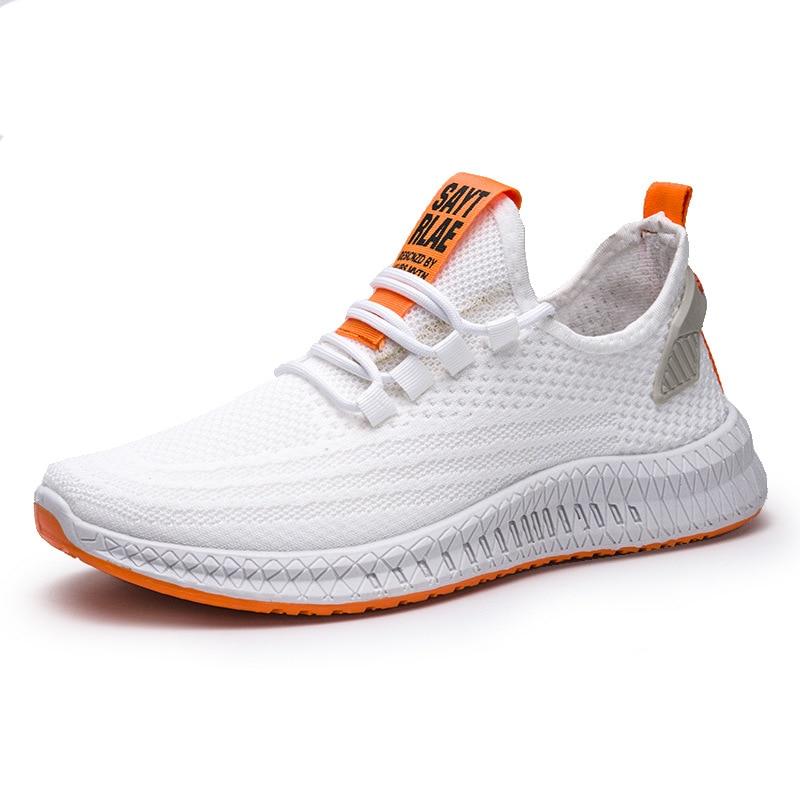 Мужские кроссовки Vapormax, корейские повседневные кроссовки на шнурках, дышащие тканые кроссовки для бега, 2020