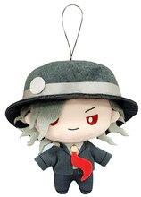 FGO Fate/Grand Order Cuchulainn Saber Attila Elizabeth Tamamo no Mae брелок на ремешке плюшевая Мягкая кукла игрушка сумка ремень милый