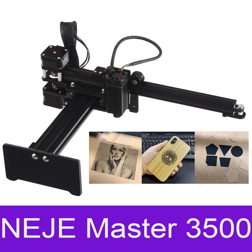 Minimáquina de grabado láser MASTER 20W, grabador láser portátil CNC de escritorio, enrutador de madera para corte de Metal/madera/plástico/cuero