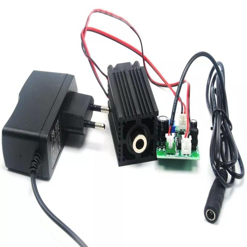 405 нм 400 мВт фокусировка синий фиолетовый лазер модуль с управлением лазер трубка диод TTL