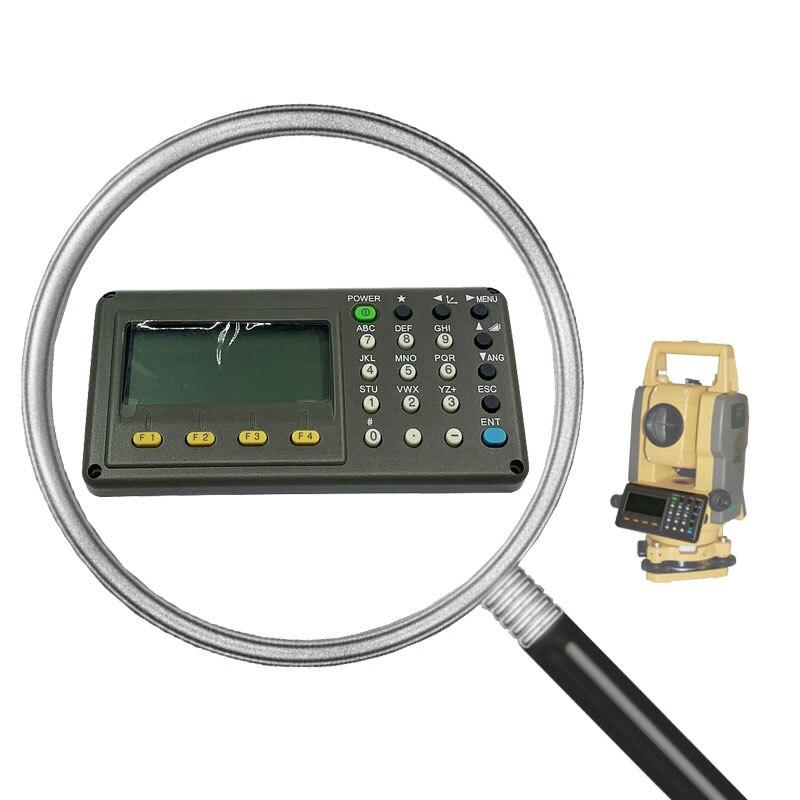 لوحة المفاتيح الأصلية 102N ل TOPCON GTS-102N 102R 332N GPT-3000 مع شاشة الكريستال السائل لوحة المفاتيح عالية الجودة أحدث