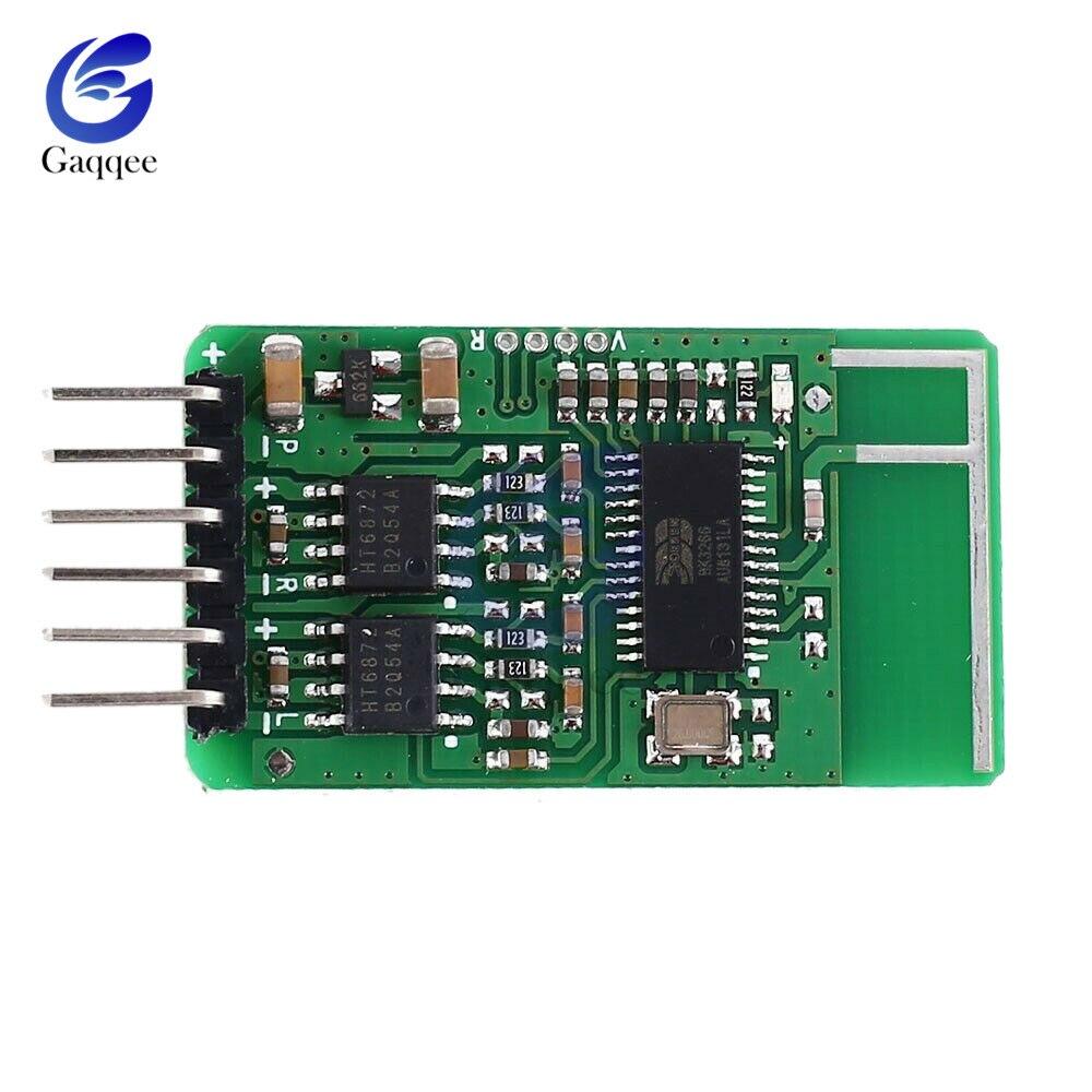 BK3266 Bluetooth 5.0 Receiver Module  Amplifier Stereo Audio Driver Board 3W+3W/5W+5W DC 3.6 -5.5V Mini Amp Module