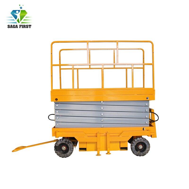 AC oder Diesel oder Batterie power hydraulische mobile scissor lift aufzug