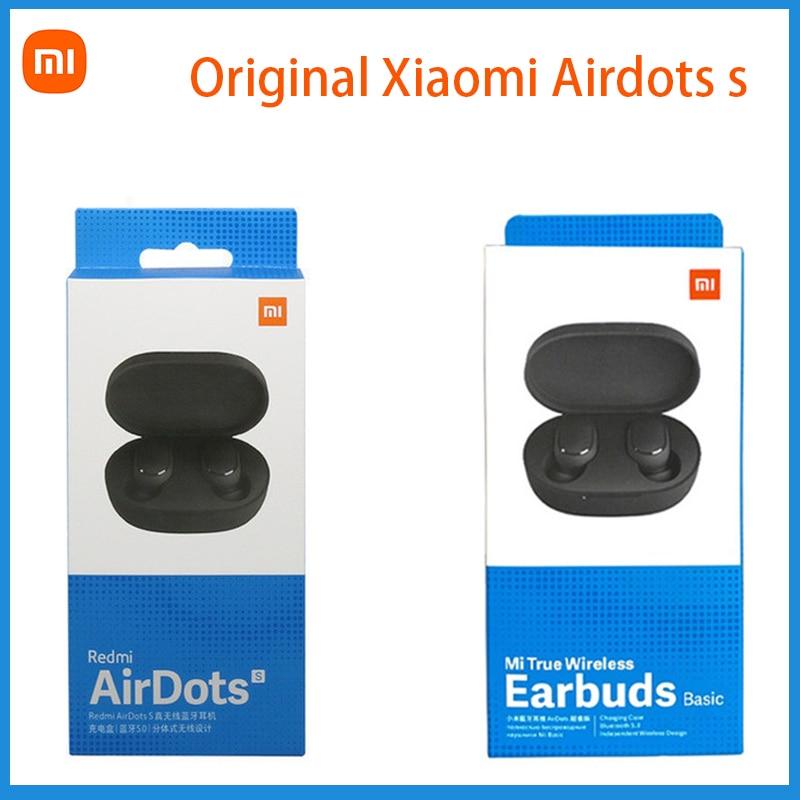 2021 Global Version Original Mi True Wireless Earbuds Basic Stereo Automatic Link Bluetooth Headset TWS Xiaomi Redmi Airdots TWS