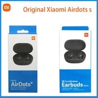 Оригинальные беспроводные наушники Mi True, Bluetooth-гарнитура TWS, базовое стерео, автоматическое соединение, Xiaomi Redmi Airdots, 2021 глобальная версия