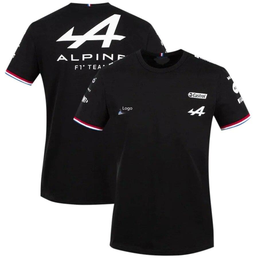 camiseta-de-manga-corta-para-aficionados-de-carreras-ropa-azul-y-negra-transpirable-equipo-alps-f1