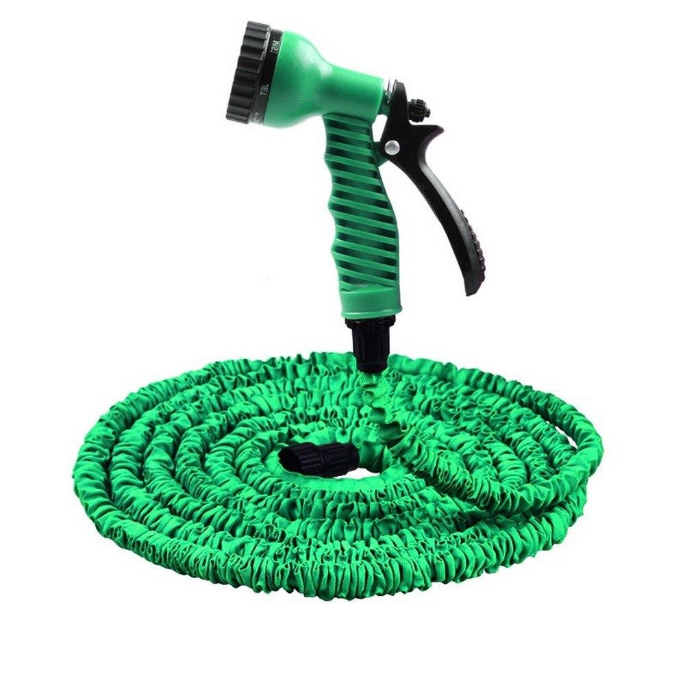 Garden Hose Expandable Magic Flexible Water Hose 25cm-50cm EU Hose Plastic Hoses Pipe With Spray Gun To Watering Car Wash Spray