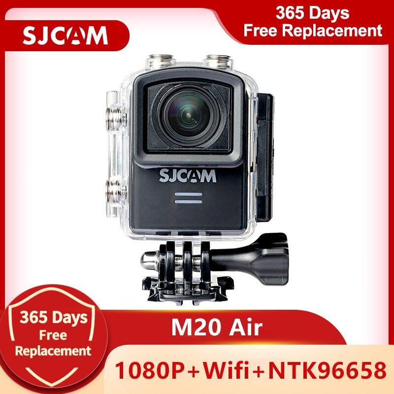 SJCAM M20 الهواء عمل كاميرا واي فاي كامل HD 1080P 170 درجة صغيرة الغوص 30 متر كاميرا مقاومة للماء كاميرا صغيرة الرياضة DV