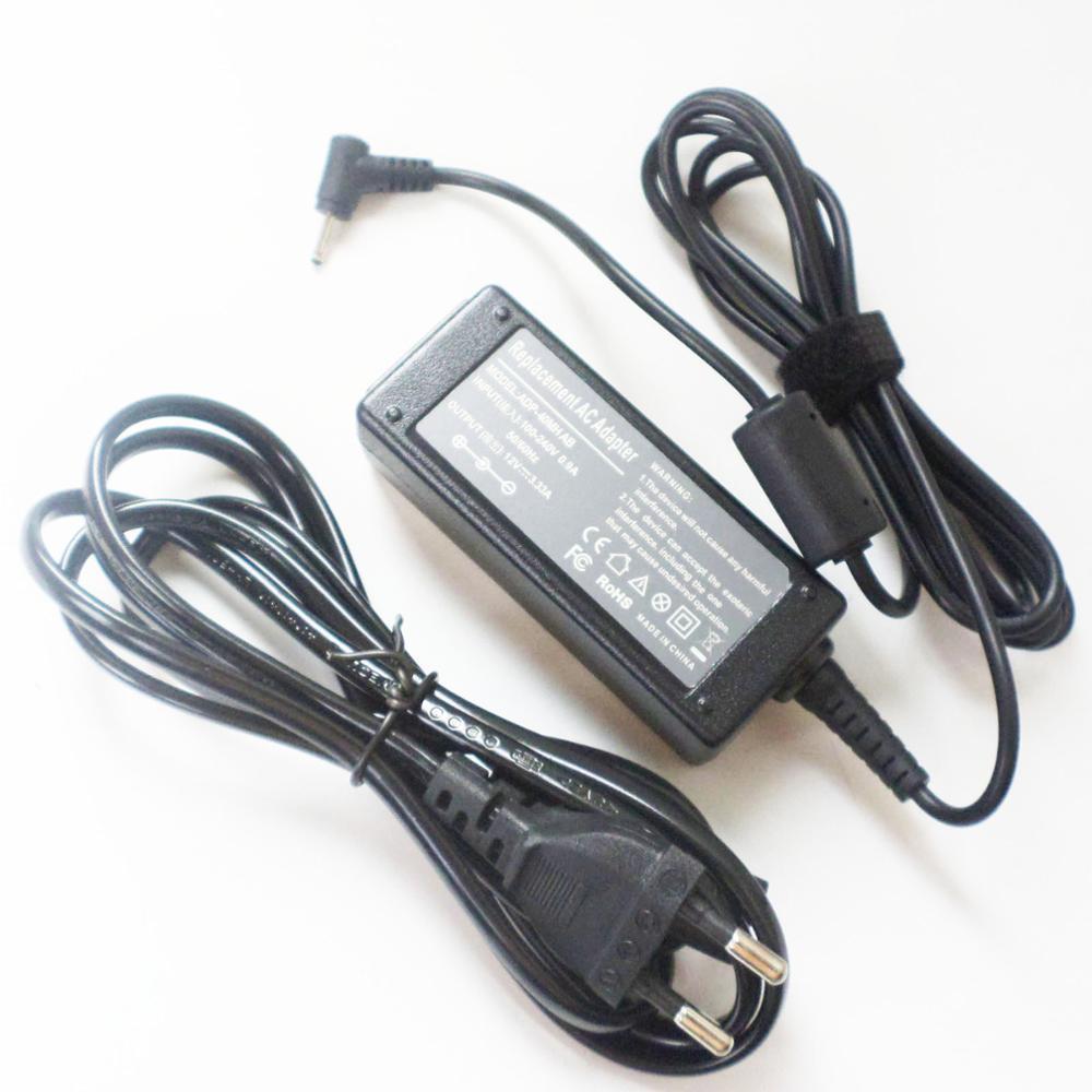 Novo 40w cabo de alimentação carregador de bateria para samsung xe303c12 xe500c13 xe500c12 BA44-00286A BA44-00262A 12v 3.33a adaptador ac