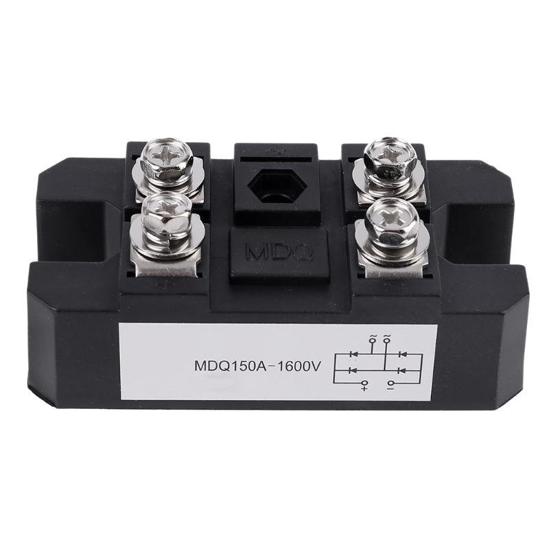 MDQ 150A-1600V Black Single-Phase Diode Bridge Rectifier 150A Amp High Power 1600V