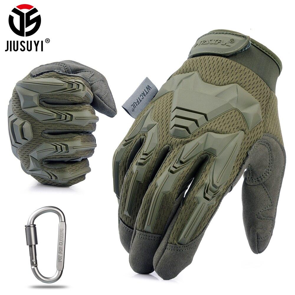 Военные прорезиненные перчатки для игры в пейнтбол, страйкбол унисекс