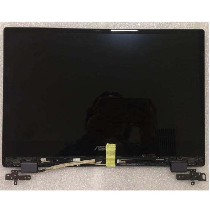 14,0 ЖК-дисплей для ASUS VivoBook Flip 14 TP412 TP412U TP412UA TP412FA сенсорный экран в сборе 1920*1080 FHD ноутбук asus vivobook flip 14 tp412fa 90nb0n31 m02610