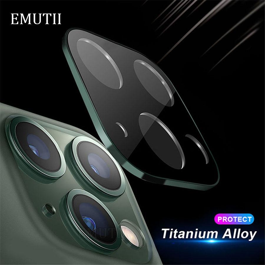Protector de cristal para lente de cámara 3D de aleación de aluminio...