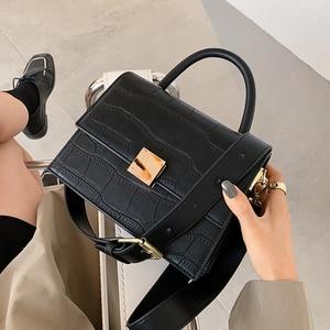 Women Shoulder Bag Pu Leather Fashion Ladies Messenger Bag Female Patchwork Small Square Bag Clutch Bags 2021 Handbags