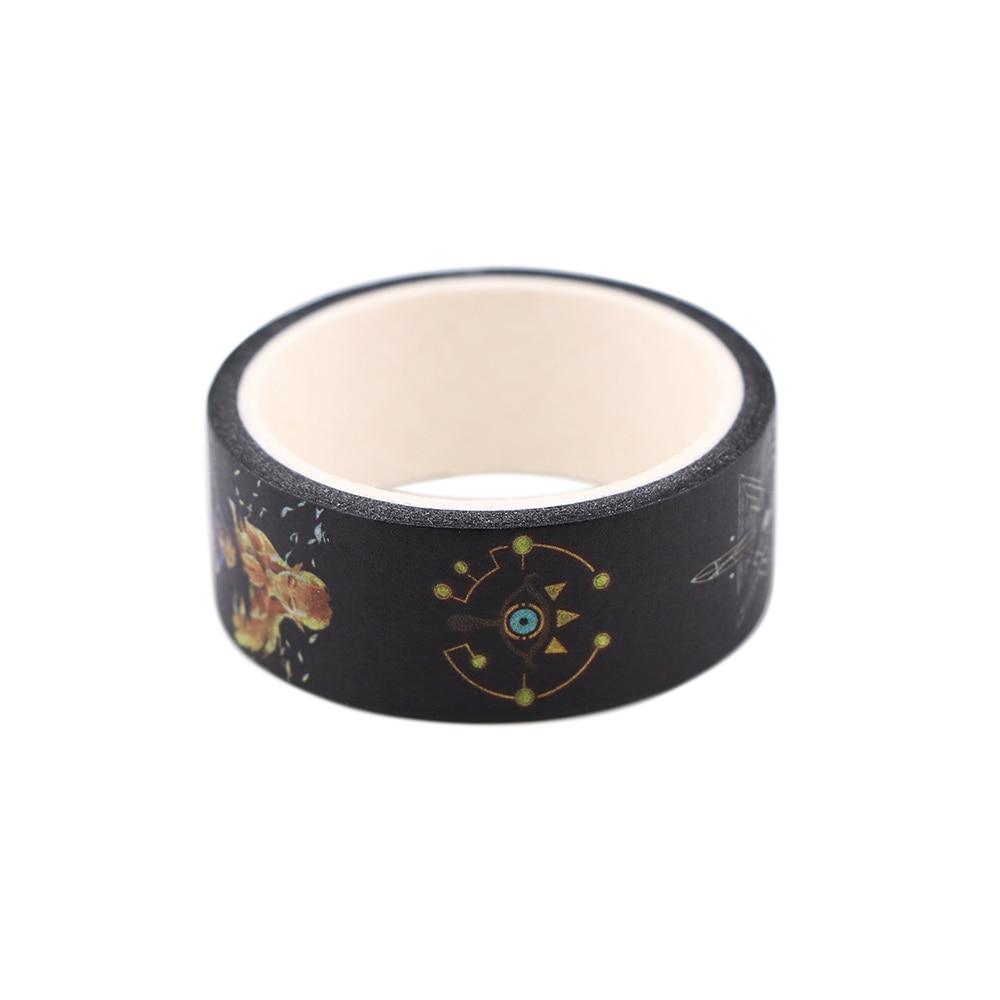YL466 Game Student Stationery Washi Tape Decorative Adhesive Tape Diy Scrapbooking Sticker Label Craft Masking Tape