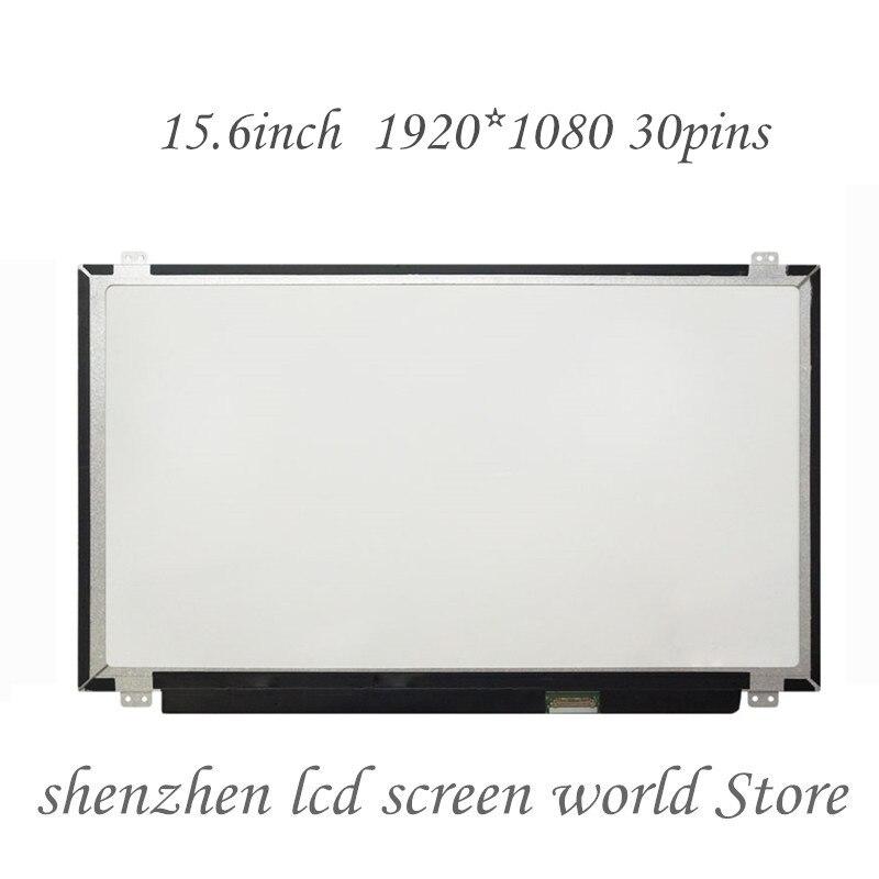 "15,6 ""pantalla de ordenador portátil n156hhe ga1 B156HAN01.2 NV156FHM-N41 HB156FH1-401 / 301 para DELL 15-7557 7568 7559 pantalla LCD"