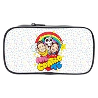 me contro te pencil case children pencil box boy student stationery bag cosplay large capacity girl makeup bags