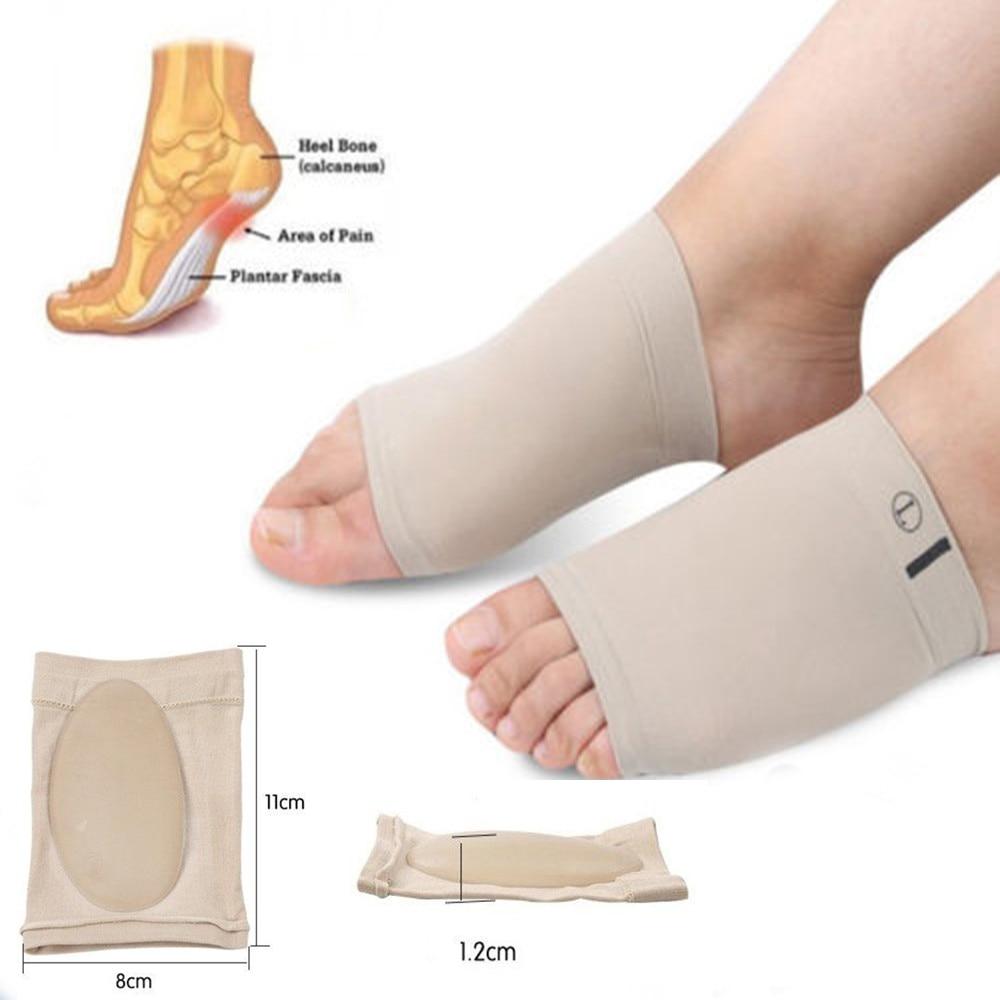 Plantilla de zapato, plantilla ortopédica de GEL, plantilla plana para aliviar el dolor, fascitis Plantar de pie