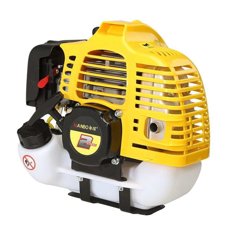 Motor de tipo mochila para cortacésped/recortadora, deshierbe el hogar, aserrado, irrigación, pequeño motor de corte de cepillo multifunción