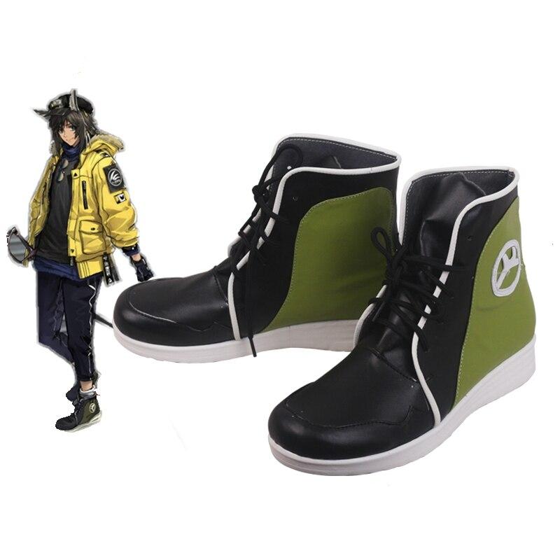 زي برقبة رسن كوسبلاي للرجال والنساء ، حذاء برقبة ، مصنوع حسب الطلب
